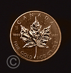 Gold Canadian Coin